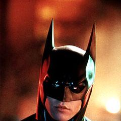 Val Kilmer as Batman in <i>Batman Forever</i>.