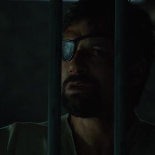 Slade in the prison.
