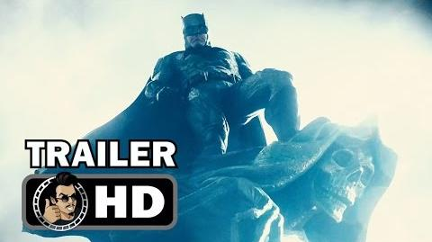 "JUSTICE LEAGUE Trailer Tease ""Batman"" (2017) Ben Affleck, Zack Snyder superhero movie"