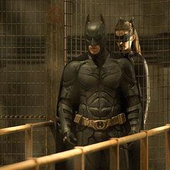 Selina leading Batman to Bane.