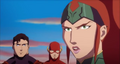 JLToA Superman, The Flash and Mera.png