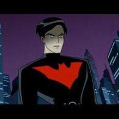 Batman II unmasked.