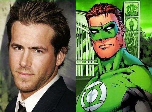 Green Lantern Cast