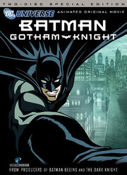 Batman Gotham Knight DVD Cover