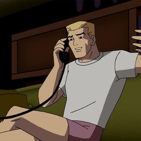 Barry Allen talks to Iris.