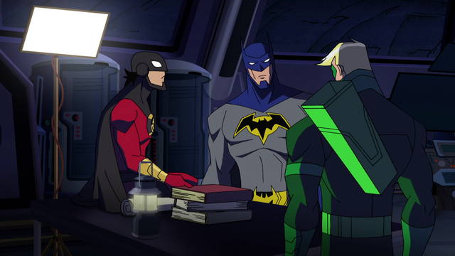 File:Green Arrow Red Robin Batman BMUMM 1.png