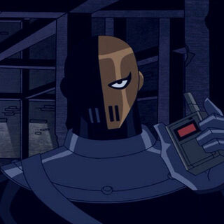 Slade announces he's going to use a Chronotron Detonator.