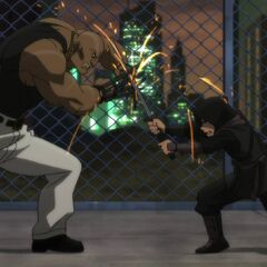 Ubu vs. Damian Wayne.