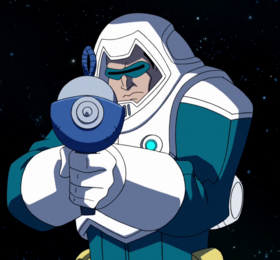 Captain Cold Trapped in Time