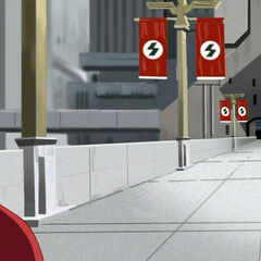 Metropolis, New York in Savage's altered timeline.