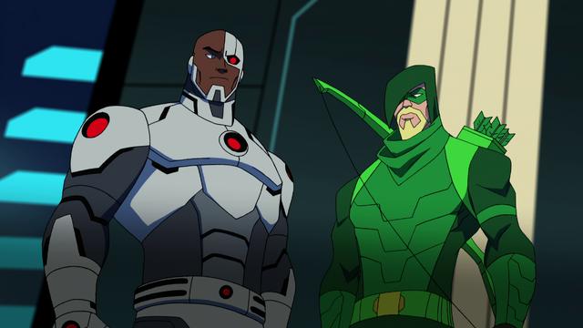 File:Green Arrow & Cyborg BMUMM.png