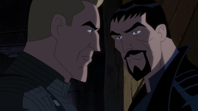 File:Superman & Steve Trevor JLG&M.png