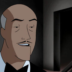 Alfred comforts Shayera after the Invasion.