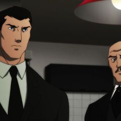 Bruce and Alfred.