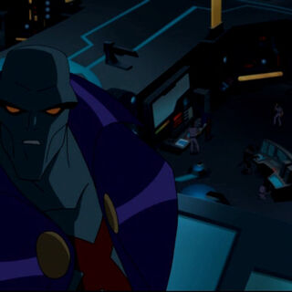 Martian Manhunter when the Watchtower's power goes out.