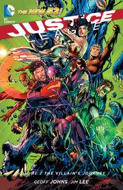 Justice League The Villain's Journey