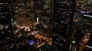 Charm city at night