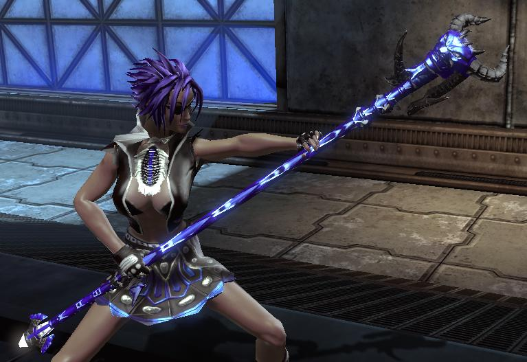 2 handed scythe weapon DC Universe Online - GameFAQs