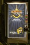 Skeets repairs kiosk