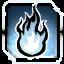 Icon Flame 001 White