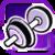 BI Dumbbell Purple