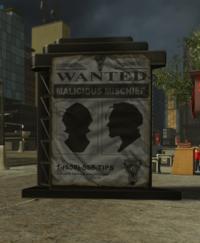 Central City Hero Bounty Poster