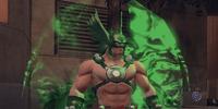 Unyielding Hawkman