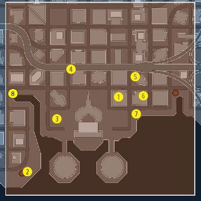 Cyborg Bounties Map