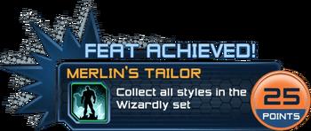 Feat - Merlin's Tailor