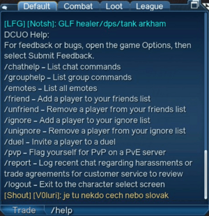Chat - Help