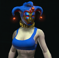 Delightful Jester Cap equipped