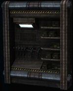 Military Gun Locker