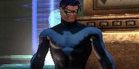 Nightwing (MPD 8th Precinct Metropolis Science Police HQ)