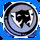 Icon Emblem 003 Blue