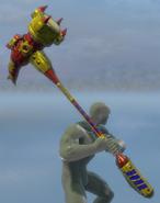 Two-HandedSpikeHammer
