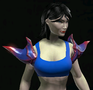 Demonbarb Shoulderplates equipped