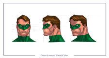GreenLantern head color