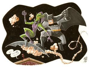 Bat Vs Goblin by OtisFrampton