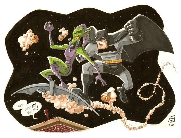 File:Bat Vs Goblin by OtisFrampton.jpg