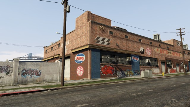 Grove street garage gta wiki fandom powered by wikia for Garage st prouant