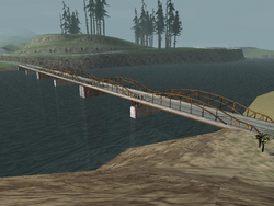 Frederick Bridge, San Andreas, SA