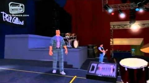 """""""In The Air Tonight"""" - Phil Collins Concert in GTA Vice City Stories"""