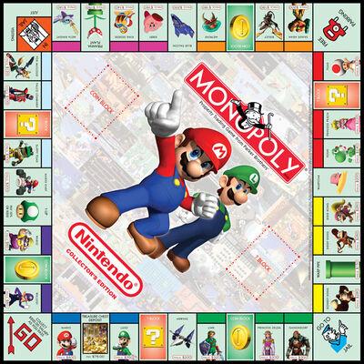 Nintendo Monopoly Spielbrett