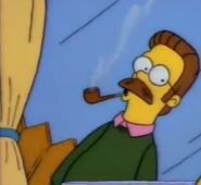 Ned Flanders Raucht