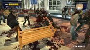Dead rising bench attack thunberboltgames