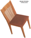 Dead rising Highback Oak Chair
