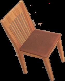 Dead rising Highback Oak Chair