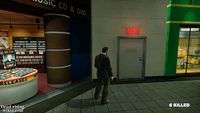 Dead rising security room door entrance plaza