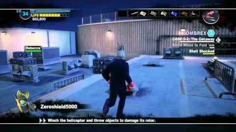Dead Rising 2 - Helicopter Fight Boss Battle