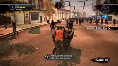 Dead rising 2 case 0 achievment zombie hunter
